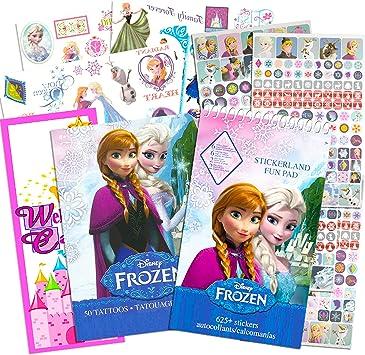 Disney Frozen Temporary Tattoos Birthday Party Favors /& School Prizes