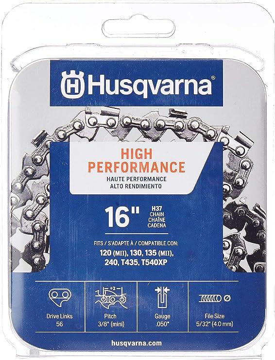 "Husqvarna 16/"" Chainsaw Guide Bar 501959256 3//8/"" .050/"" 56 DL"