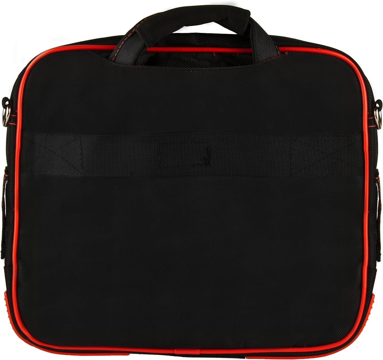 5 12.3 Pro 7 6 Go 10.1 10 to 12 Inch Orange Black Travel Laptop Messenger Bag for Microsoft Surface Pro X 13
