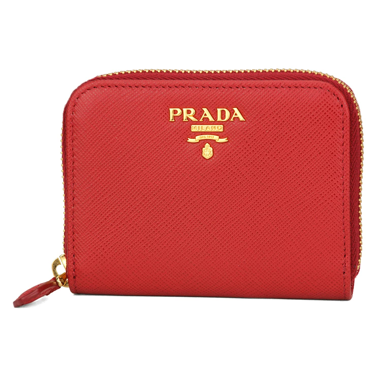 プラダ(PRADA) 1MM268 QWA F068Z 財布 コインケース レッド 赤 FUOCO(フォーコ)[並行輸入品] B019Q94XOY