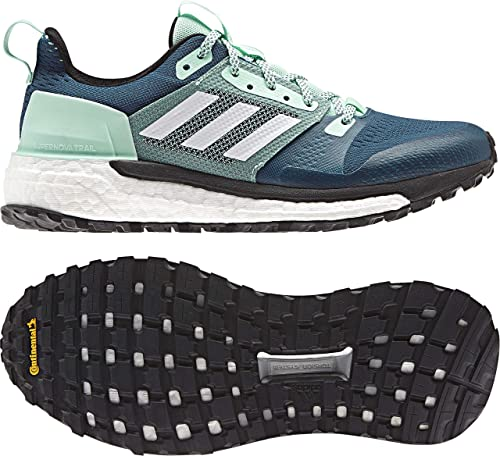 adidas outdoor Women's Supernova Trail Real Teal/White/Clear ...