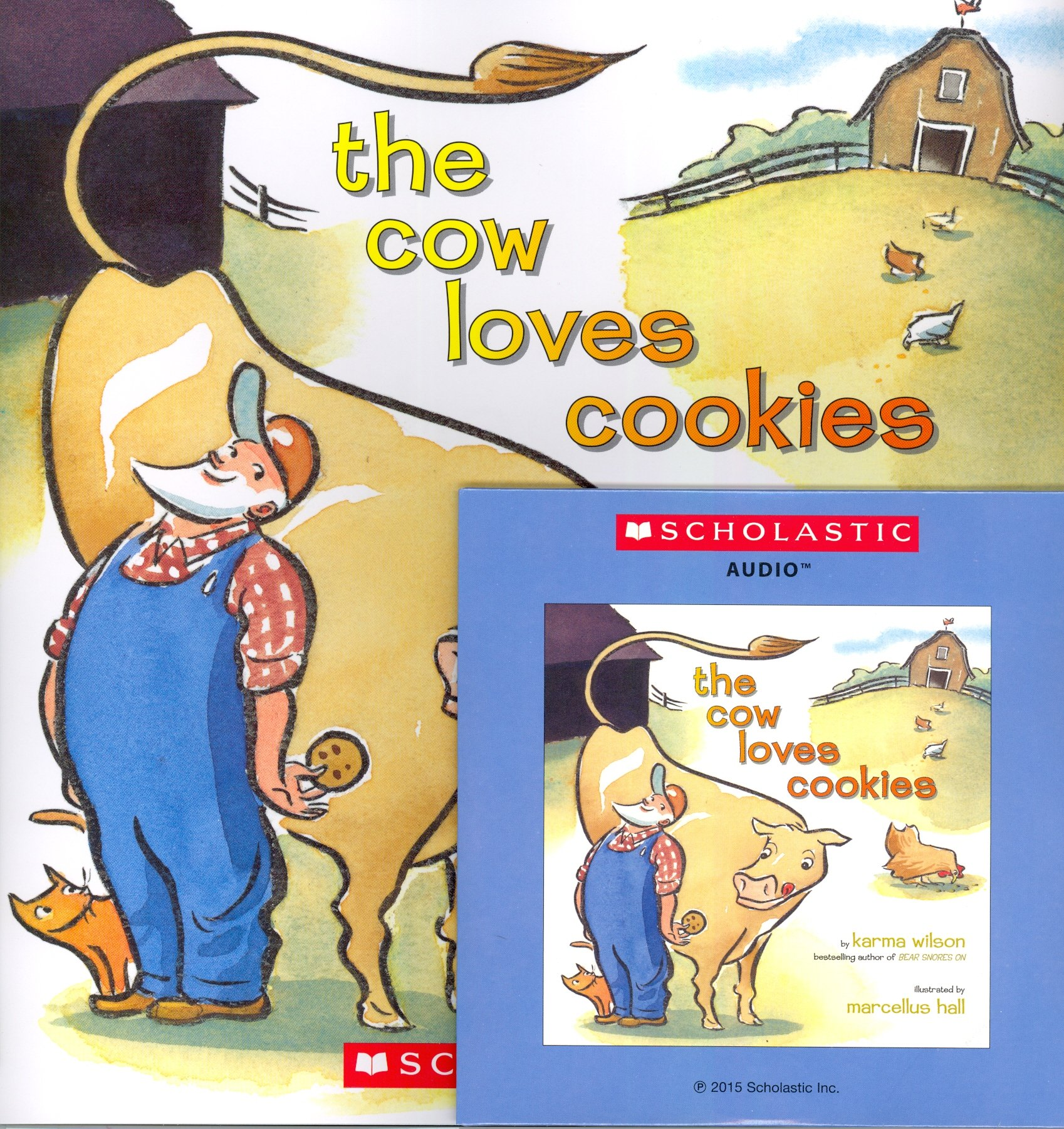 Download The Cow Loves Cookies (Paperback book with Audio CD) ebook