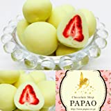 ショコラドフレーズ ホワイト苺チョコ 100g メッセージカード付き☆パパオ<PAPAOチョコレート>