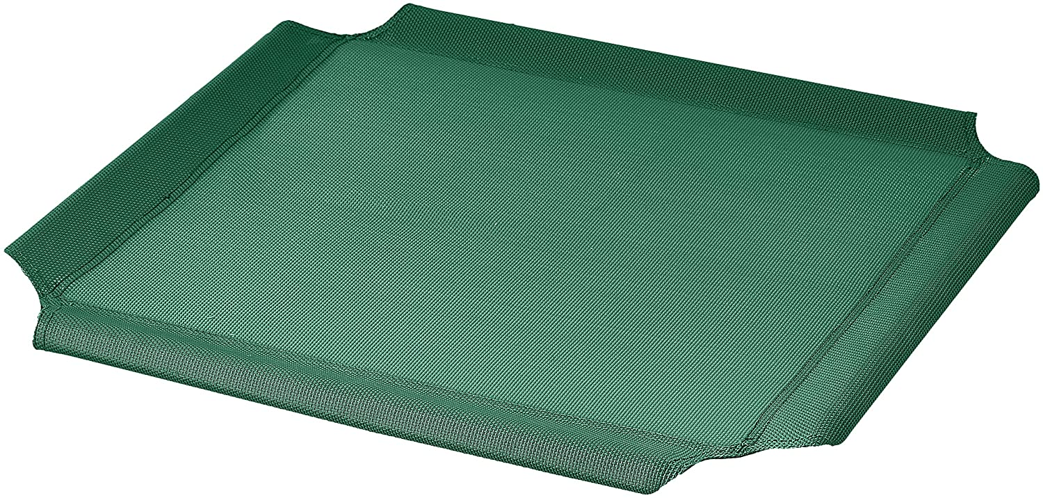 AmazonBasics Elevated Cooling Pet Bed Replacement Cover, Updated Sizing