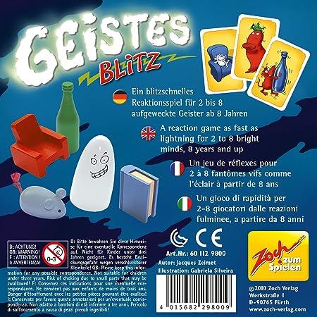 ZOCH Verlag Geistesblitz 2.0 Spiele