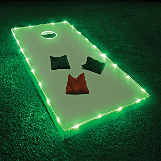 Ultra Bright Cornhole Bean Bag Game Light 6 Inch Sunsbell Cornhole Board Lights Pack of 2