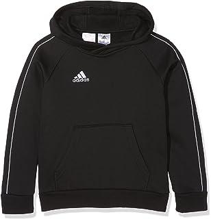 c959c9f2ba8d2 adidas Core18 Hoody Y Sweat à Capuche Enfant: Amazon.fr: Sports et ...