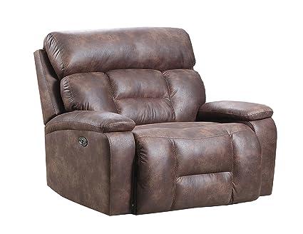 Amazon Com Simmons Upholstery 50755pbr 195 Dorado Walnut