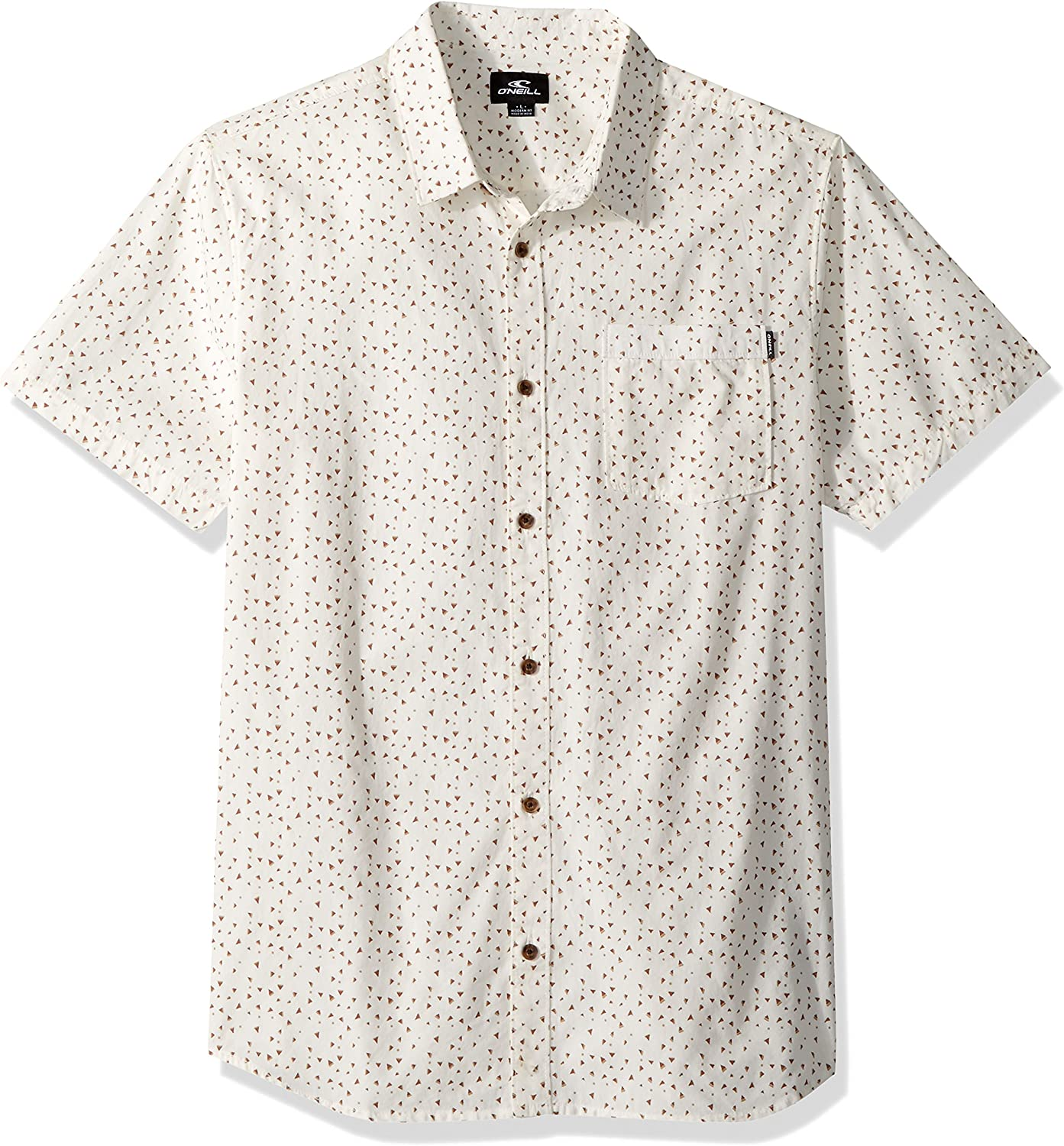 ONeill Mens Modern Fit Chest Stripe Short Sleeve Woven: Amazon.es: Ropa y accesorios