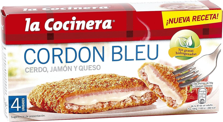 LA COCINERA cordon bleu caja 376 gr - Congelado: Amazon.es: Alimentación y bebidas