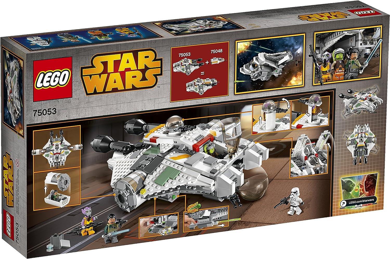 Lego Star Wars Rebels Stormtrooper Minifigure w// Blaster 75053 75078 75083 75157