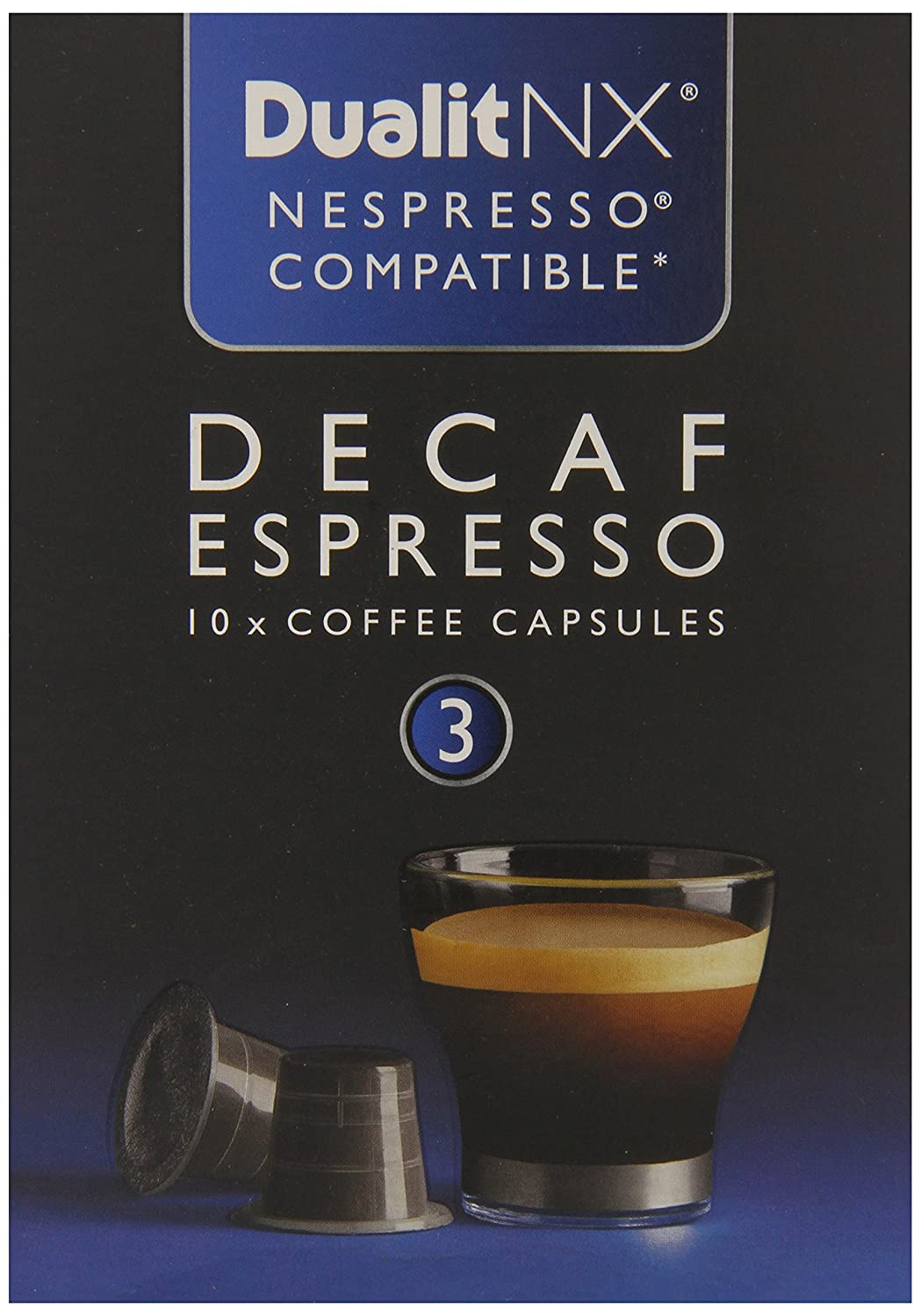 Dualit Nx Decaf Espresso, 0.28 Pound, 10 Coffee Capsules: Amazon.com: Grocery & Gourmet Food