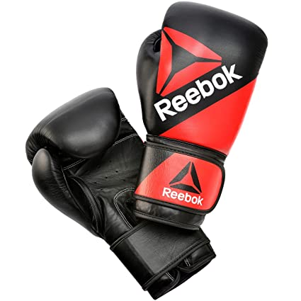 ea4a345ab3fd6 Amazon.com   Reebok Combat Leather Training Gloves   Sports   Outdoors