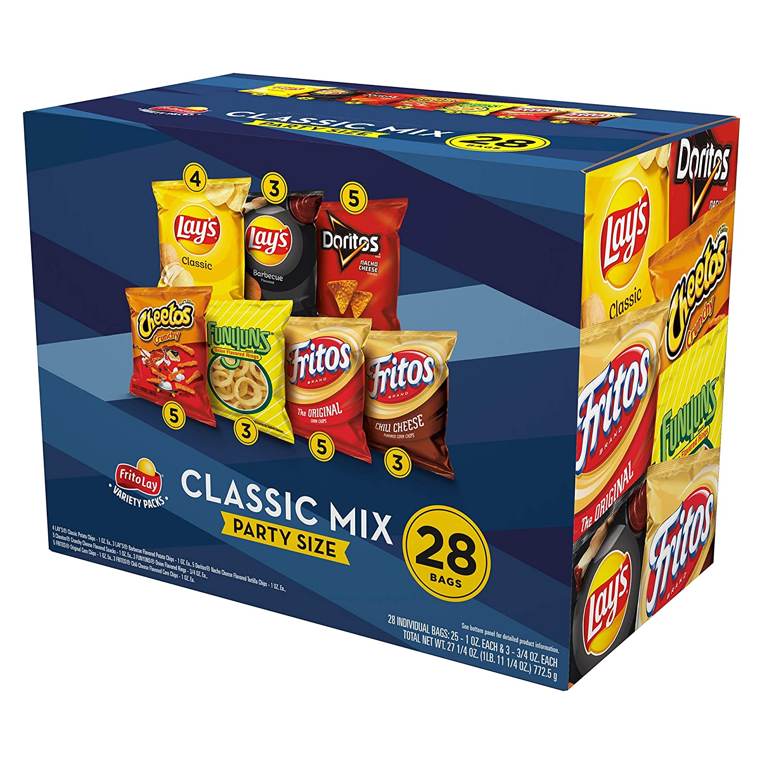 Frito-Lay VP Party Mix Cube, 28 Count