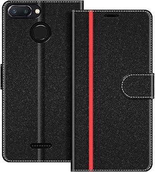 COODIO Funda Xiaomi Redmi 6 con Tapa, Funda Movil Xiaomi Redmi 6A ...
