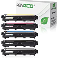 5 Toner kompatibel zu Brother TN-241 TN-245 für Brother MFC-9142CDN, Brother DCP-9022CDW, MFC-9342CDW, MFC-9332CDW, HL-3150CDW, HL-3170CDW - TN-241BK TN-245C TN-245M TN-245Y - Schwarz je 2.500 Seiten, Color je 2.200 Seiten