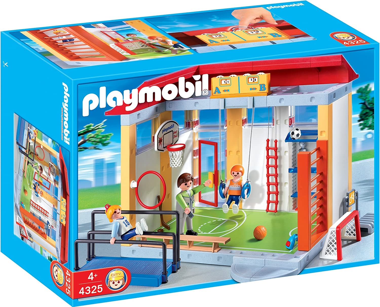 Playmobil Pièce de gymnase playmobil du set 4325 échelle