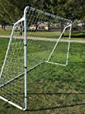 Brand New PASS Large 10X6 Steel Soccer Goal w/Velcro Straps & Anchors. 10X6 Goal. Perfect for 5 vs 5 and Training. 10 x 6