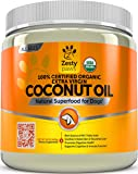 Zesty Paws Coconut Oil for Dogs - Certified...