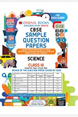 Oswaal CBSE Sample Question Paper Class 10 Science Book (For March 2020 Exam) Paperback