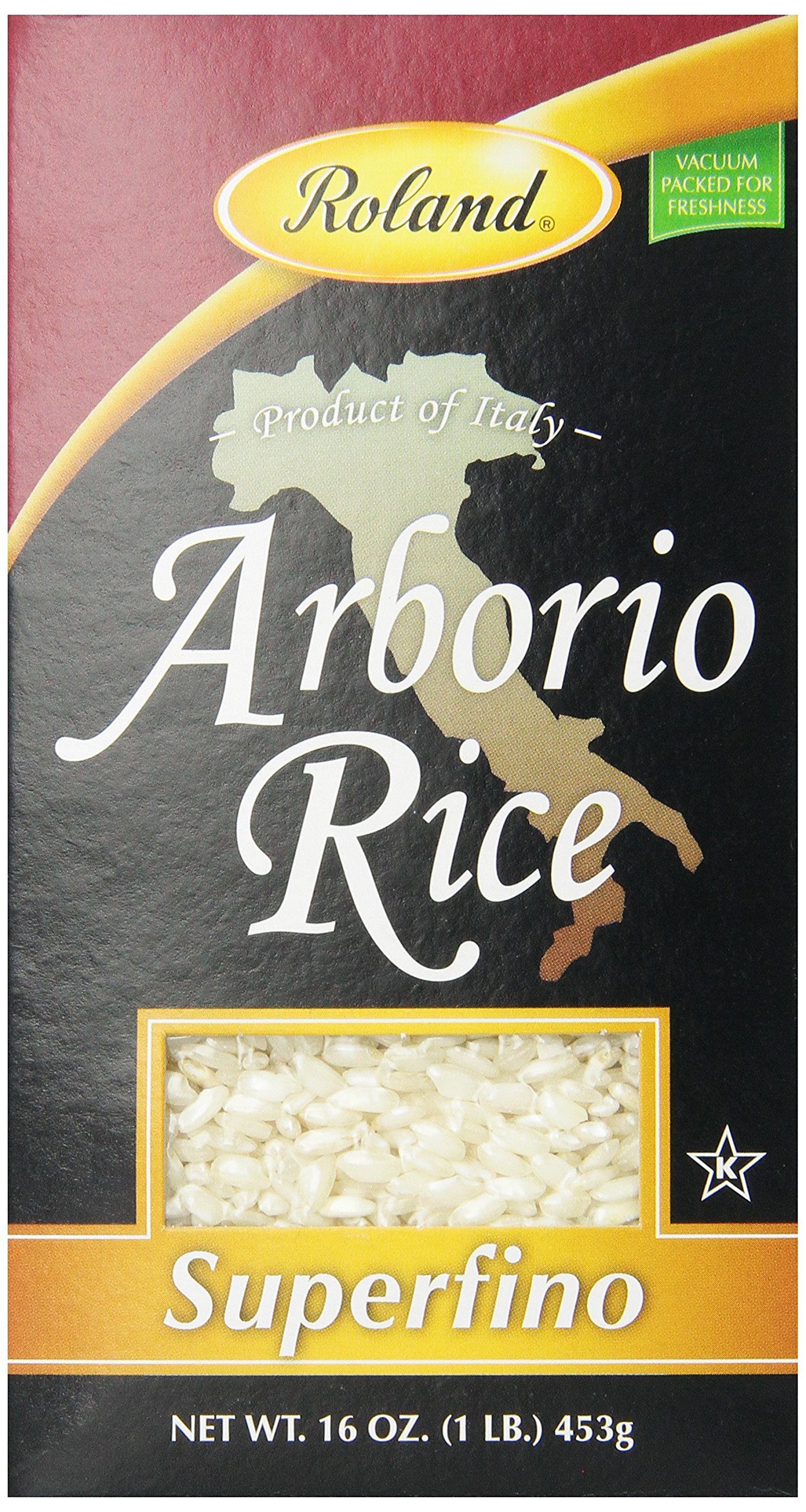 Amazon.com : Roland Carnaroli Rice, Superfino, 2 lbs 3.3