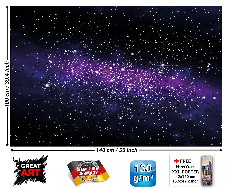 Great Art Poster Sterne Wandbild Dekoration Kinderzimmer Weltraum