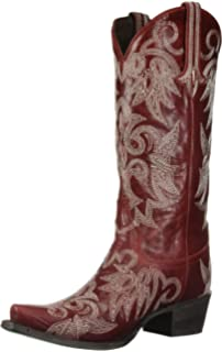 6ef673a2835 Amazon.com | Lane Women's Lovesick Stud Vintage Cowgirl Boot Snip ...