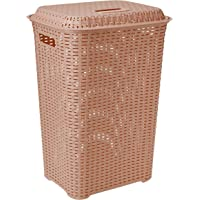 Cello Eliza Plastic Laundry Basket, 50 Litres