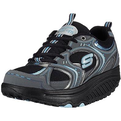 Chaussures d'été Skechers Shape Ups noires Casual femme 5CyTndQc