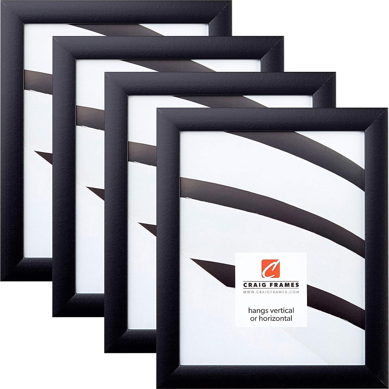 Craig Frames 1WB3BK 24 x 36 Inch Picture Frame, Black, Set of 4