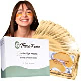 Under Eye Patches for Puffy Eyes I Under Eye Mask Dark Circles and Puffiness I UnderEye Gel Patches and Under Eye Pads w…
