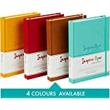 INSPIRE NOW JOURNAL – A5 Daily Productivity Planner, Daily Organiser, Weekly Planner, Set and Achieve Your Goals, Get Things Done. (Turquoise)
