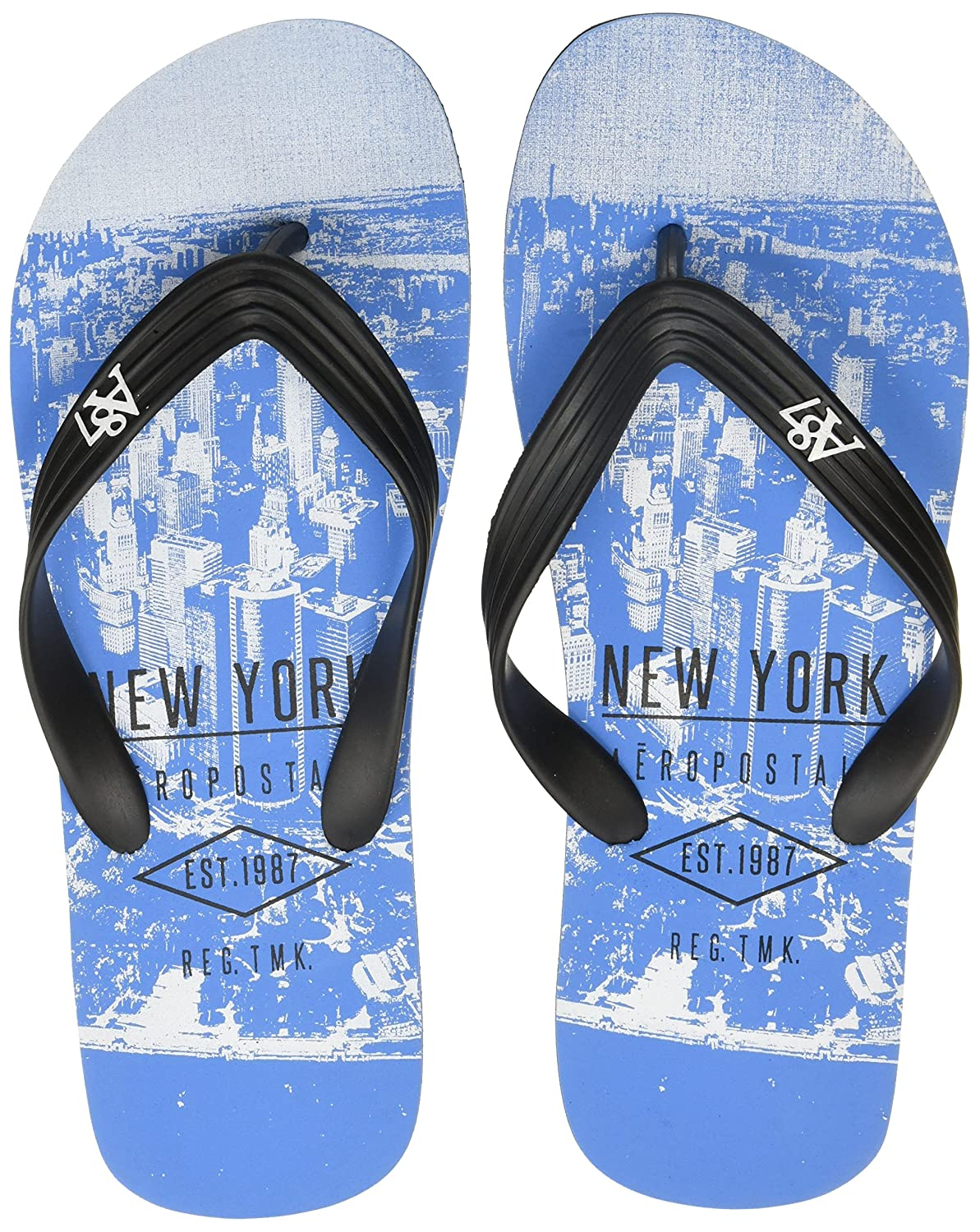 05f43dca7396 Aeropostale Men s Samuel Flip Flops Thong Sandals  Buy Online at Low Prices  in India - Amazon.in