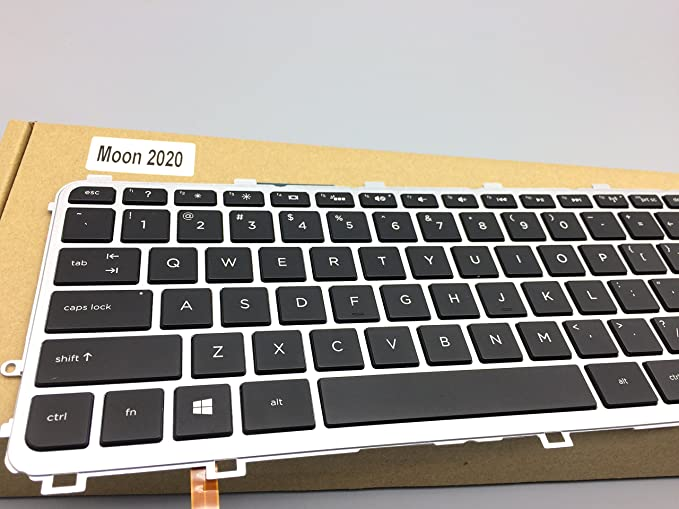 Laptop Replacement Keyboard Fit HP Envy 15-J 15-J000 15T-J000 15T-J100 15Z-J000 15Z-J100 720244-001 720245-001 US Layout with Backlight
