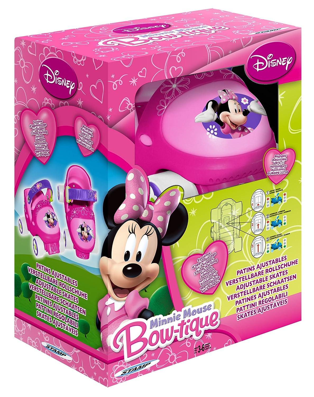 Stamp - Patines con 4 ruedas, diseño Minnie Mouse (J100034): Amazon.es: Juguetes y juegos