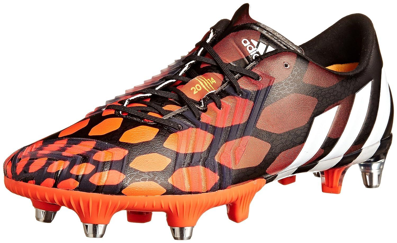 Adidas PROTator Instinct SG Fußballschuh Herren, schwarz   rot, 6.0 UK - 39.1 3 EU