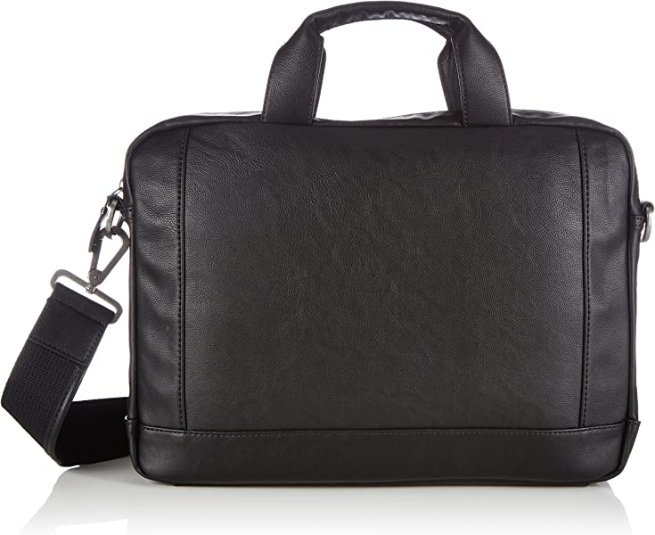 6535f2e96be Esprit Mens Parker Business Laptop Bag 035EA2O005 Black (001 Black ...