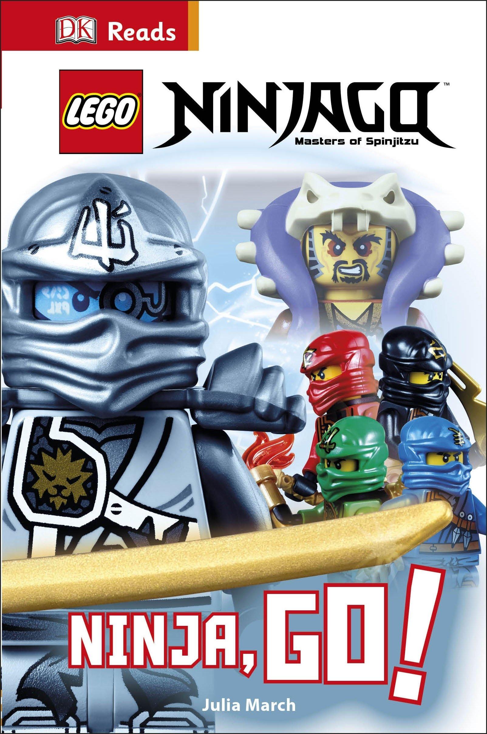 LEGO (R) Ninjago Ninja, Go! (DK Reads Beginning To Read): DK ...