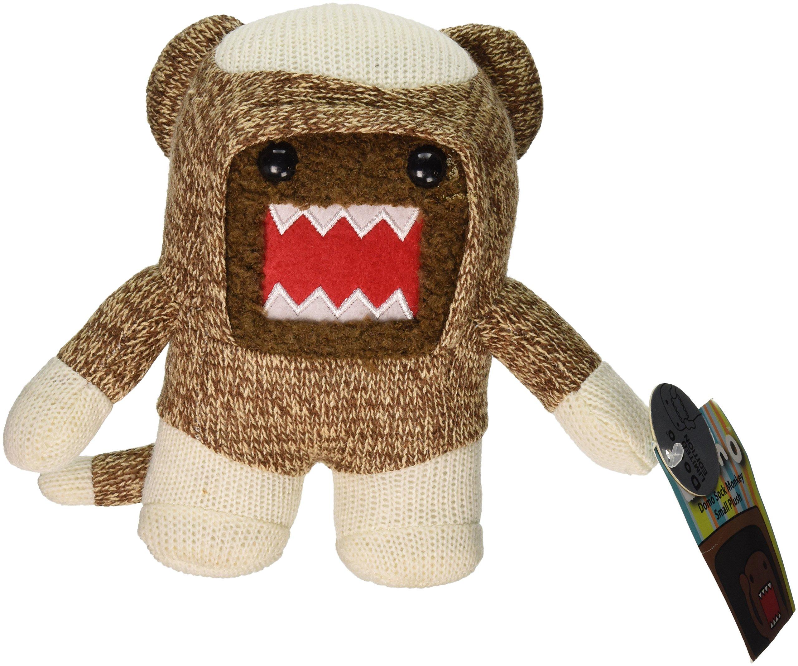 Domo 6.5 Inch Plush Figure Sock Monkey Domo