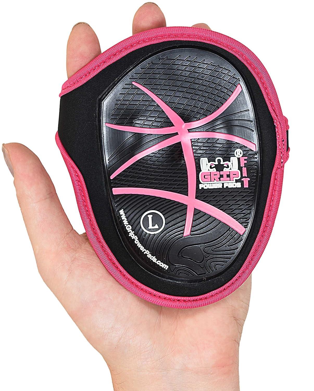 Grip Power Grip ピンク PadsクロストレーニンググローブMaximusゴムリフティンググリップパッドWeight Lifting Fitness by by Women ピンク B07FK9S5HG, BALI&ALOHASTYLE:25234be6 --- itxassou.fr
