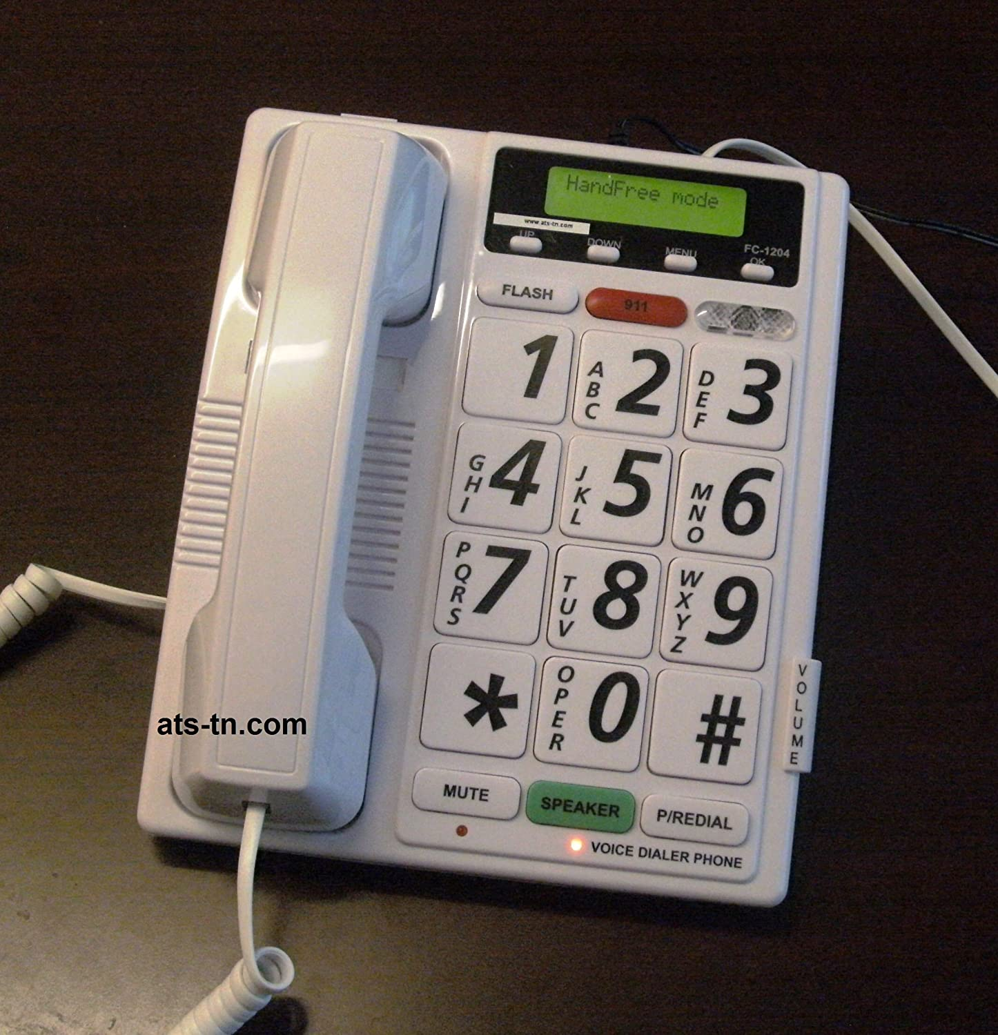 Amazon Com Totally Voice Activated Telephone Dialer Hands Free No Buttons To Push To Activate It Electronics
