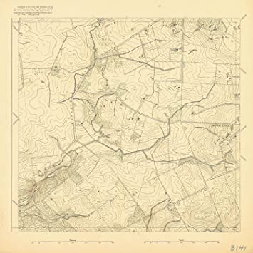 8 x 12 inch 1893 us old nautical map drawing chart of murdoch mill road from