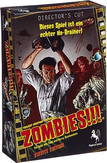 Pegasus Spiele 54100 Zombies!!! - Juego de mesas (en alemán): Amazon.es: Juguetes y juegos
