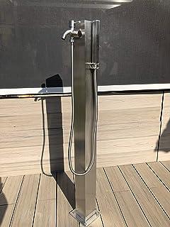 Steinkirch Solar Jardín ducha con libre seleccionable ducha cabeza + + piscina ducha camping ducha ducha solar jardín Verano ducha: Amazon.es: Bricolaje y herramientas