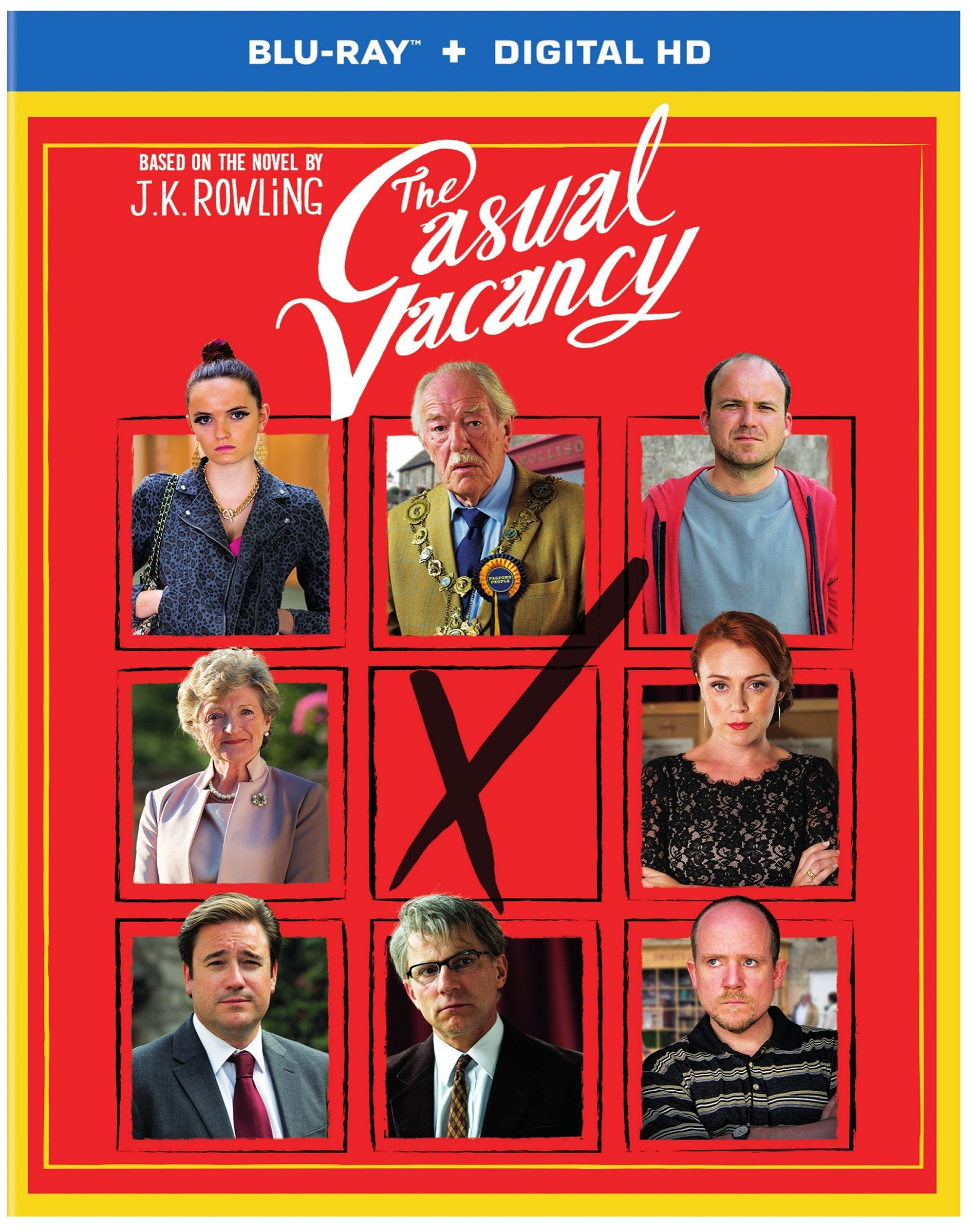 Blu-ray : The Casual Vacancy (Dolby, Digital Theater System, Widescreen)
