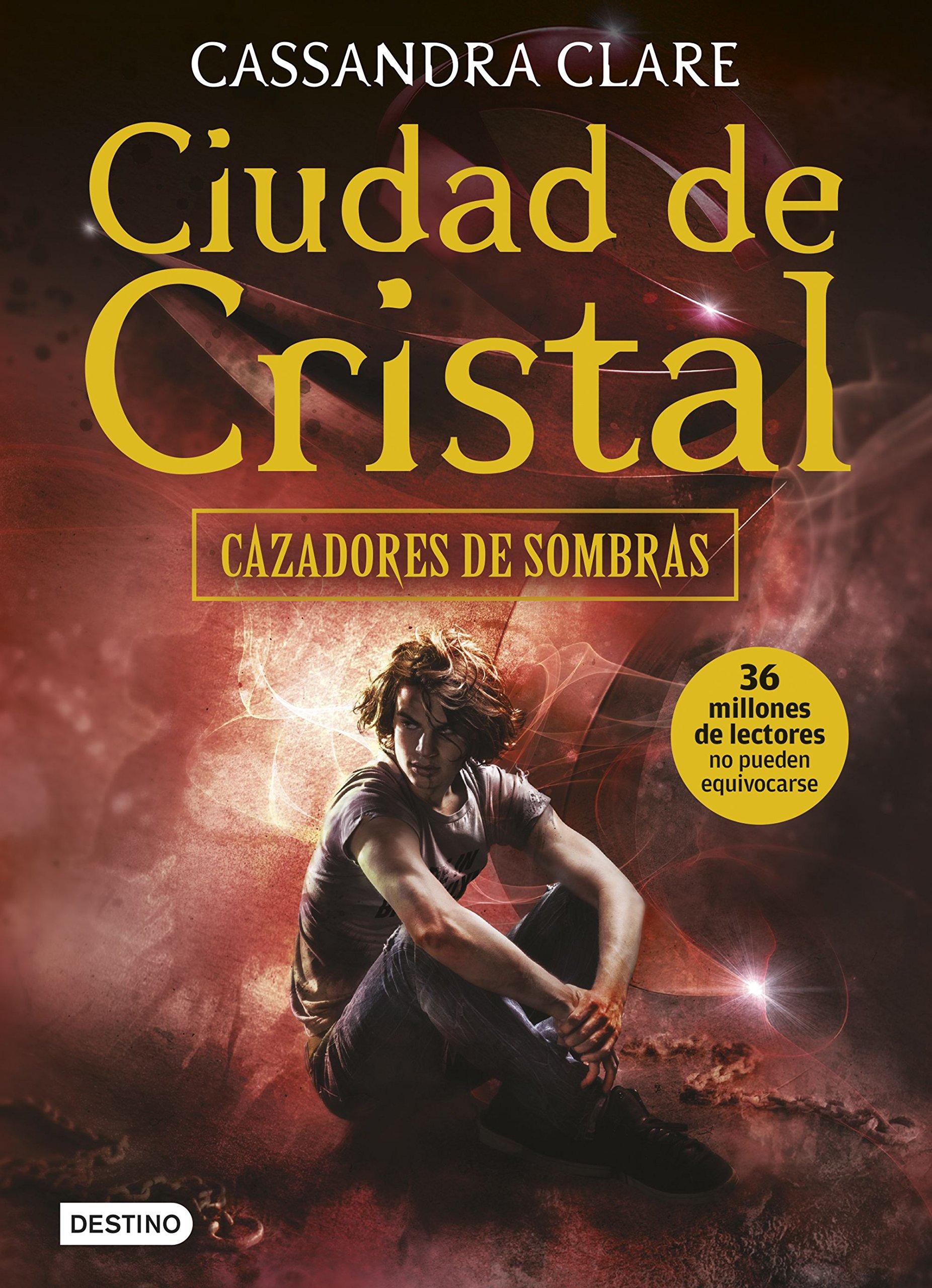 Read Online Ciudad de cristal: Cazadores de sombras 3 pdf