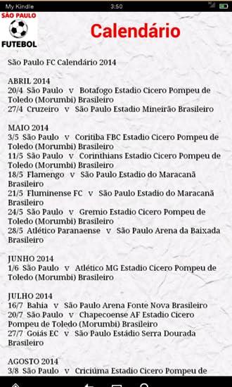 Amazon com: São Paulo Futebol Notícias: Appstore for Android