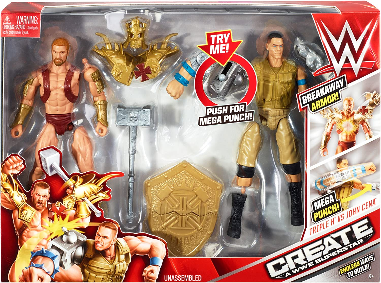 WWE Create A Superstar, John Cena v Triple H Expansion Pack by Mattel: Amazon.es: Juguetes y juegos