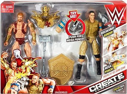 72a5e05ace2e Amazon.com  WWE Create A Superstar John Cena v Triple H Expansion ...