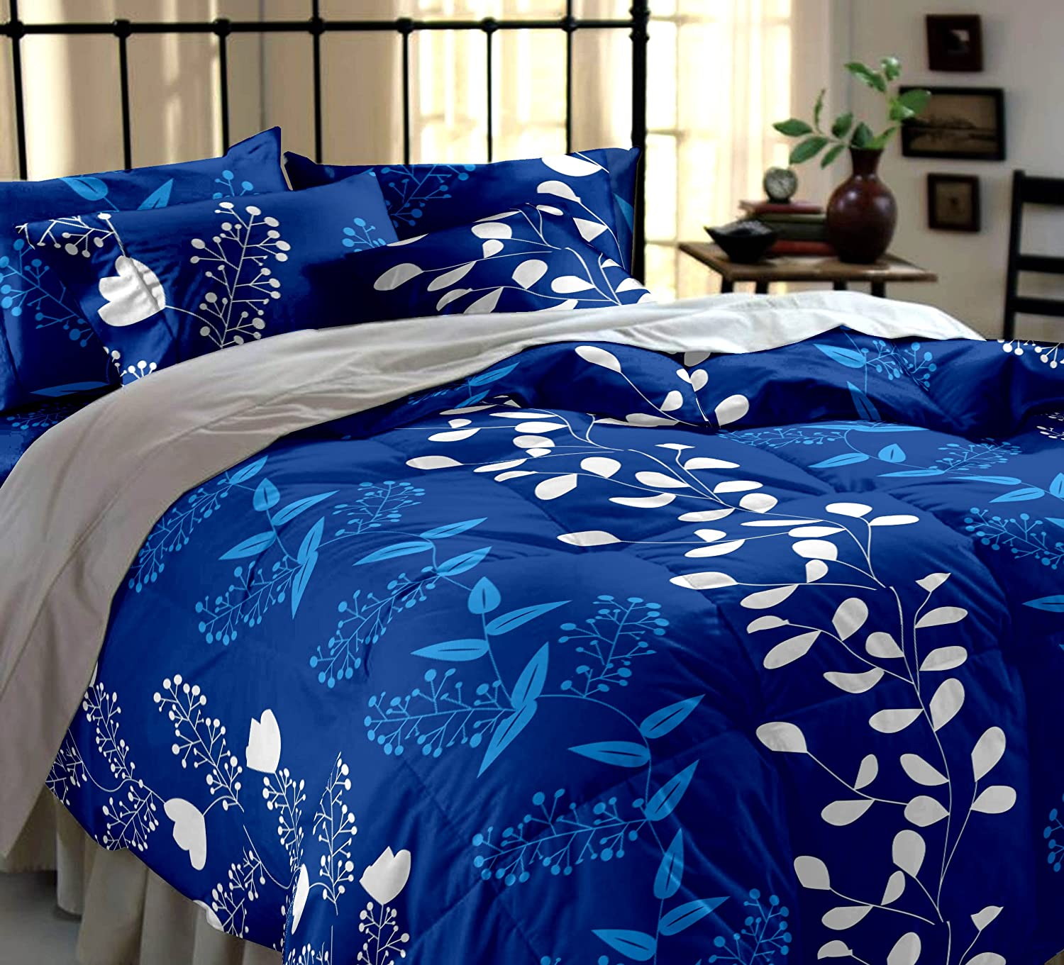 print microfiber american sheet of bed copy set floral bedsheet piece products thread